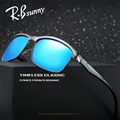 R.Bsunny Brand polarized sunglasses men new Fashion classic high-quality women sunglasses Aluminum-magnesium frame Polaroid lens