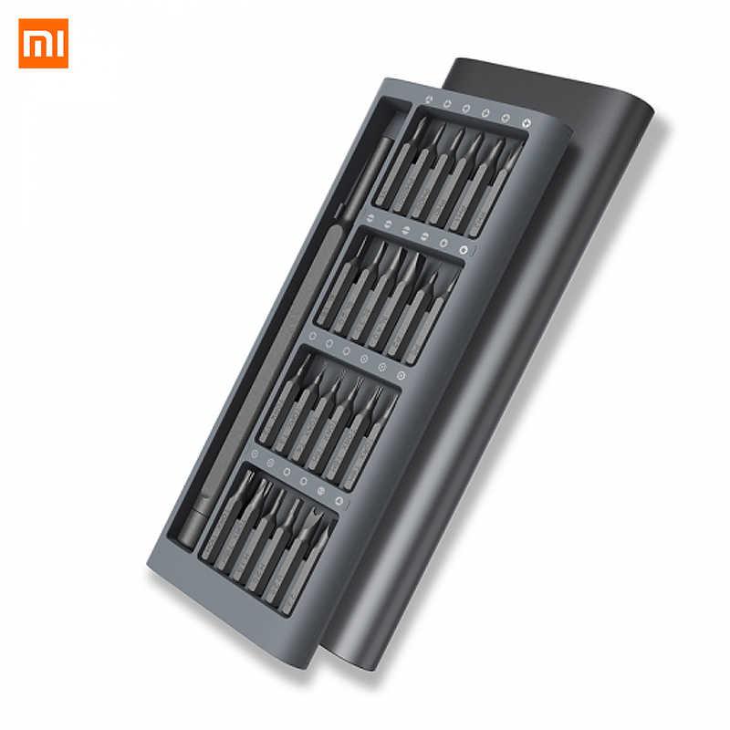 Xiaomi Mijia Original Wiha 24 in 1 Precision Screw Driver Kit 60HRC Magnetic Bits Xiaomi Home Kit Repair Tools Automation kits