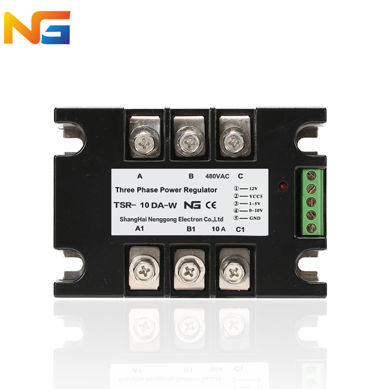 NG TSR-10DA-W voltage regulator module three phase SCR strong anti-interference ability multiple control signal quik lok mp891