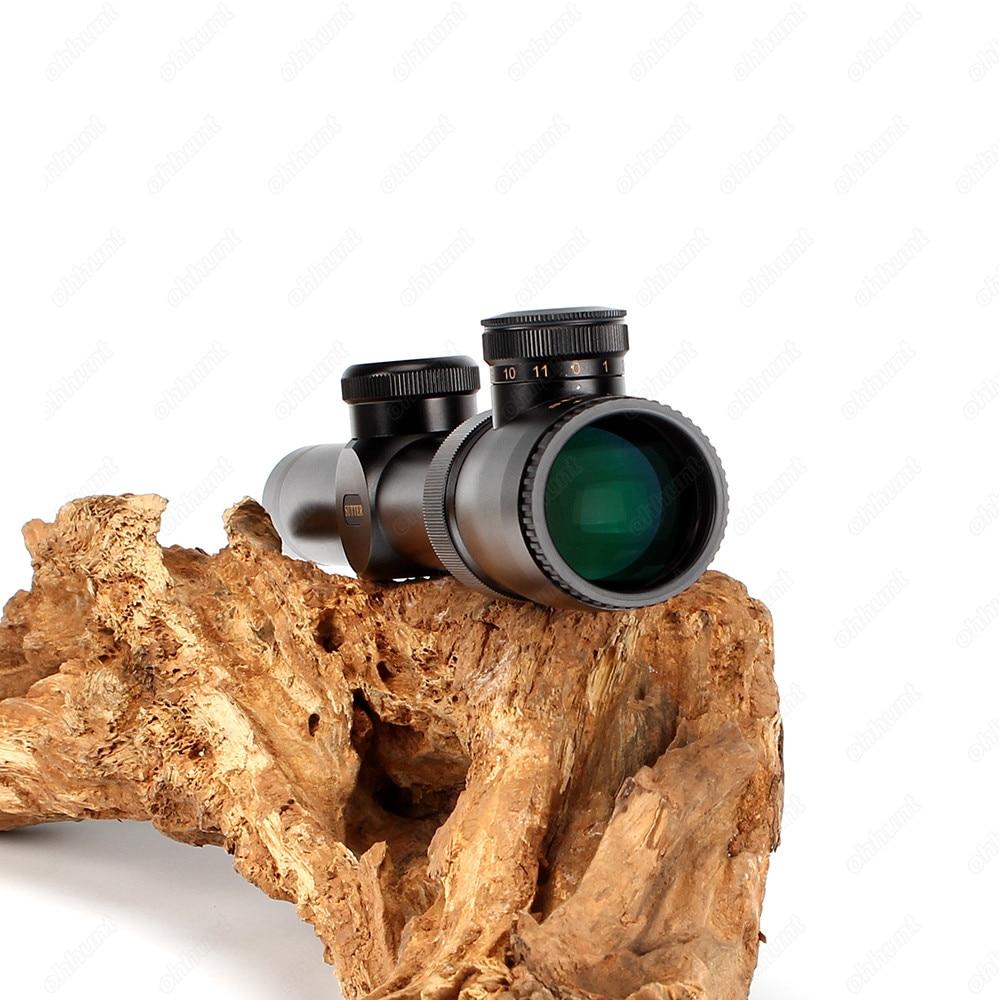 SUTTER 1-4X24 Tactical Riflescope Optische bezienswaardigheden Red - Jacht - Foto 4