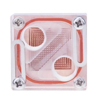 Square Transparent General North Bridge Water Cooling Waterblock Computer Water Cooling System Parts