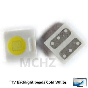100pcs EVERLIGHT Lextar AOT LED Backlight High Power LED 1W 3030 2828 3V-3.6v Cool white 230LM TV Application 3030 smd led diode