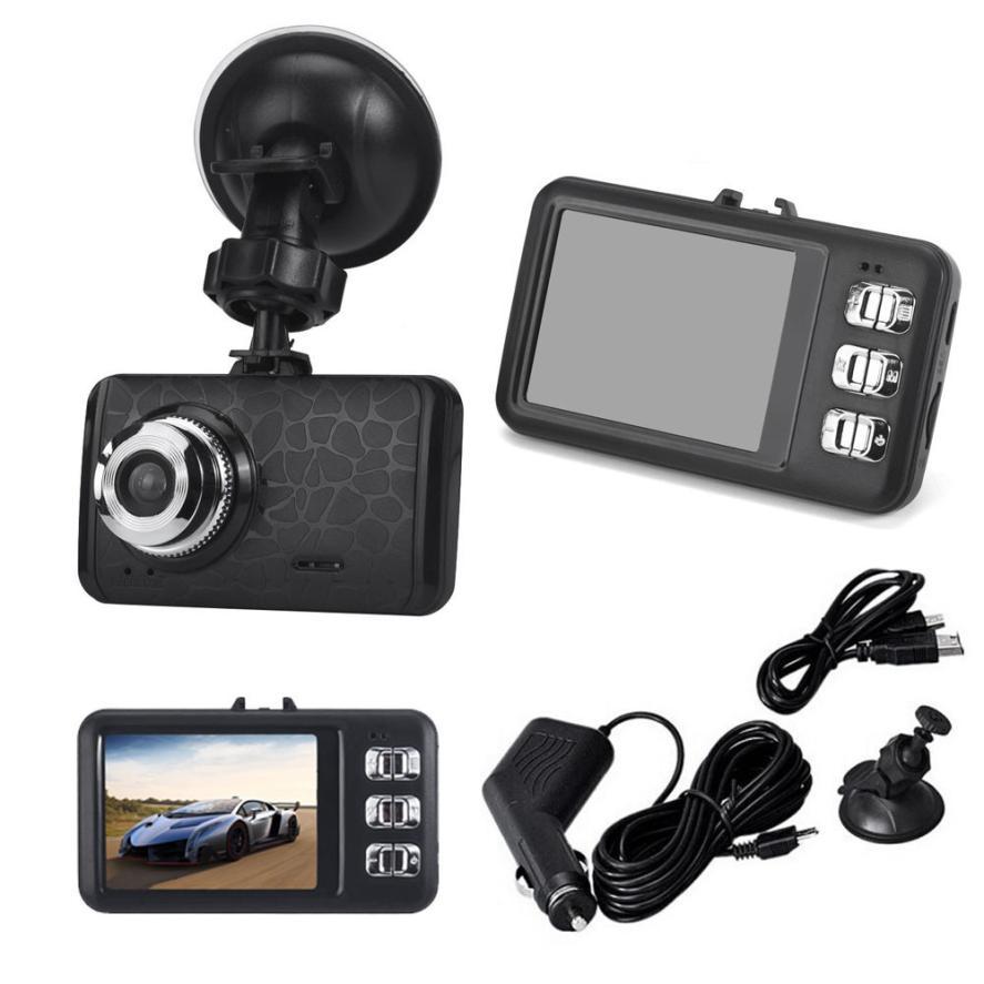 imágenes para Nueva Llegada 1080 P HD DEL COCHE DVR del g-sensor IR de Visión Nocturna Del Vehículo la Cámara de Vídeo Grabador Dash Cam