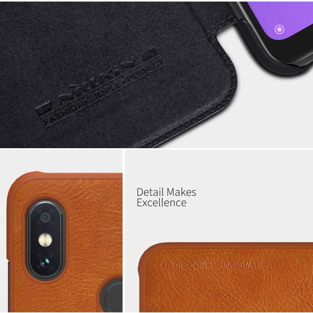 For Xiaomi Redmi Note 6 Pro Case Cover Flip NILLKIN Qin Leather Cover For Xiaomi Note 6 Pro global Wallet Case