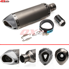 Universal Motorcycle Modified Scooter Akrapovic yoshimura Exhaust Muffle pipe GY6 CBR CBR125 CBR250 CB400 CB600 YZF