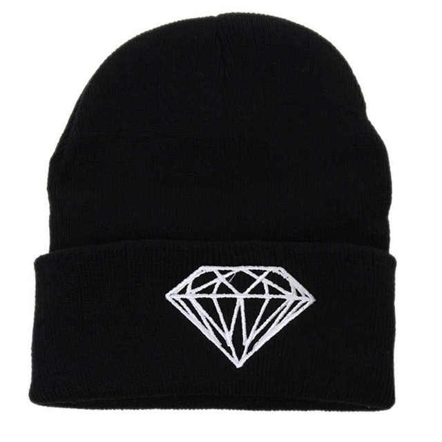 hat Winter Beanie Women Men Fashion Letter Printed Beanie Cap Cotton Blend  Knitted Winter Beanies Hiphop Caps IU677803 23aba6817ac