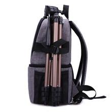 Фото камера DSLR видео Waterprpof Оксфорд ткань мягкие Плечи Рюкзак SLR сумка чехол для Canon Nikon sony фотография