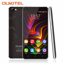 OUKITEL C5 Pro 5.0 inch HD 4G LTE Mobile Phone Android 6.0 MT6737 Quad Core 2GB RAM 16GB ROM Smartphone Dual SIM Dual Camera