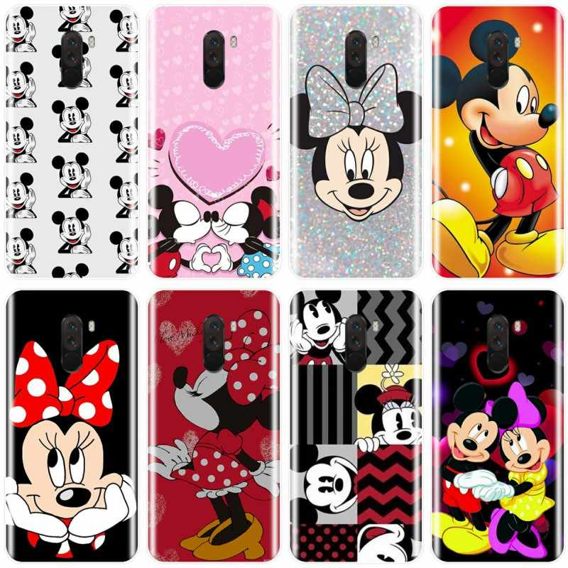 For redmi NOTE 4 5 6 7 NOTE 4X 5A 5 6 For redmi 4 4A 4X 5A 5 PLUS 6 pro Cute Mickey Minnie Cover Soft Silicone TPU Phone Case