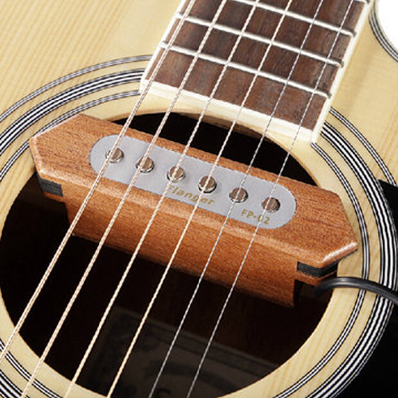 Brand Flanger FP-2 Wood Acoustic Guitar Pickup Sound Hole Pickup Acoustic Guitar Accessories все цены