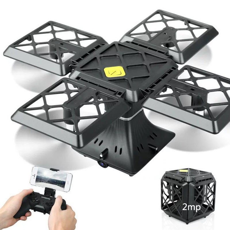 Square four-axis aircraft aerial photography HD professional square folding mini drone childrens toys rc helicopter toySquare four-axis aircraft aerial photography HD professional square folding mini drone childrens toys rc helicopter toy