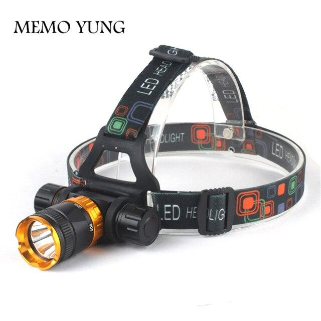 XML-T6 LED 3800 Lumen 5-Mode Dive Waterproof Scuba Diving Headlamp Headlight Underwater work Flashlight torch Light lamp
