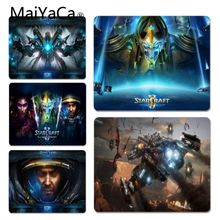 лучшая цена MaiYaCa New Arrivals Starcraft Comfort Mouse Mat Gaming Mousepad Large Thicken Comfy Gaming Rubber Mouse Pad For cs go lol