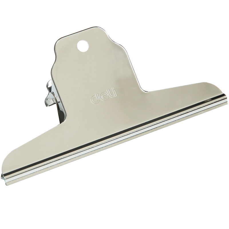 9531 Hill-shaped Iron Ticket Clip 145mm Wide Painting Stainless Steel Clip 4PCS/bag Learning Stationery  Office Supplies