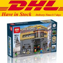 IN Stock  LEPIN 15015 5003pcs City Creator The dinosaur museum Model Building Kits Minifigure Blocks Bricks Compatible Toys Gift