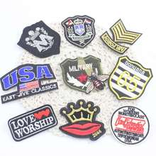 Eightteen kinds optional patch patches iron embroidery garments in clothing stitching accessories badge 1 pcs