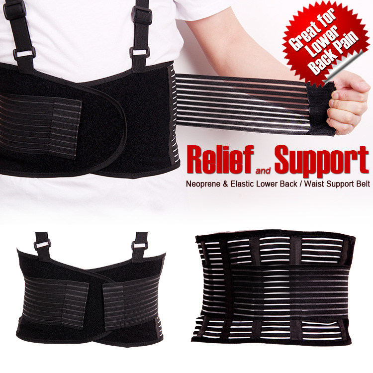Breathable waist brace relief back pain adjustable elastic waist - Sportswear and Accessories - Photo 2