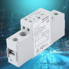 DC Solid State Relay SMD100015 DC Control DC Single Phase Solid State Relay DIN Rail Slim Solid State Relay Module & Board