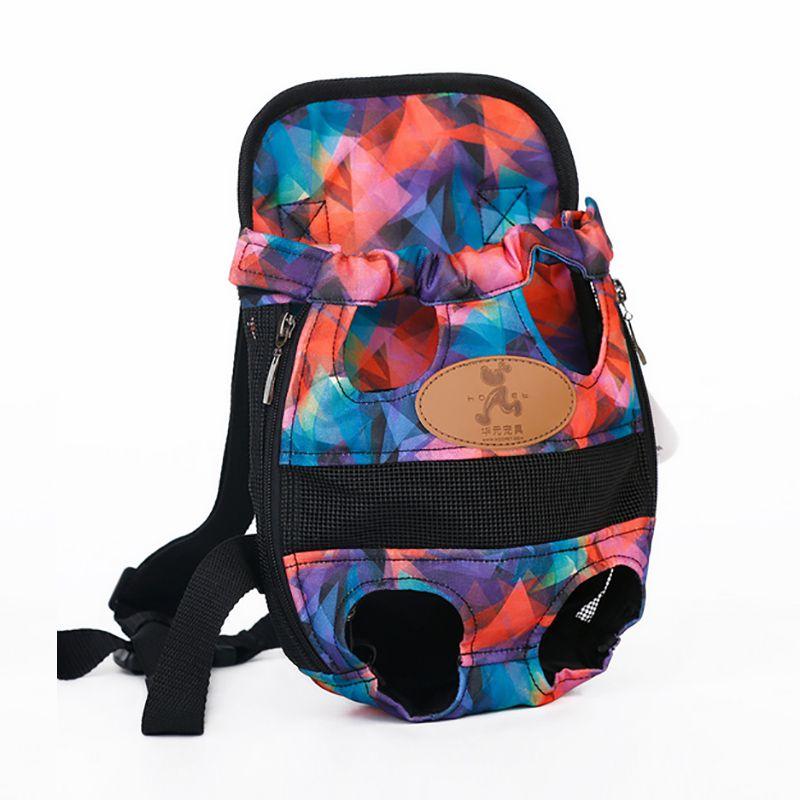 Hot Pet Carrier Shoulders Back Front Pack Dog Cat Travel Bag Mesh Backpack Head out Design Travel Adjustable Shoulder Strap D1