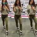 TAOVK дизайн Россия стиль Новые Поступления Весенние Брюки женские раза и растянуть замшевые брюки