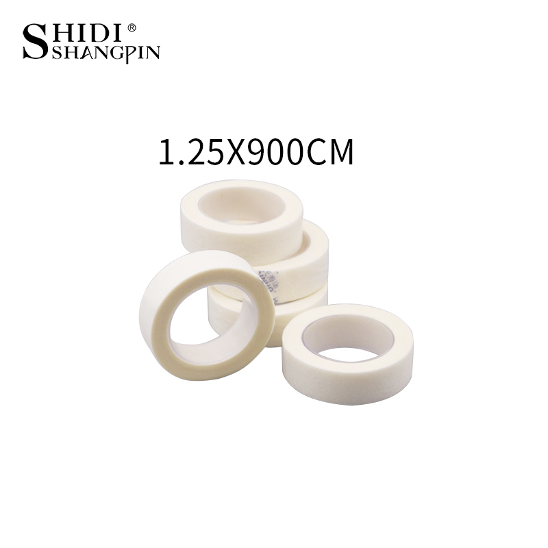 3 Pcs/Rolls Eyelash Extensions Paper Patches Professional Under Patch Eyelash Lash Extension Micropore Paper Medical Tape
