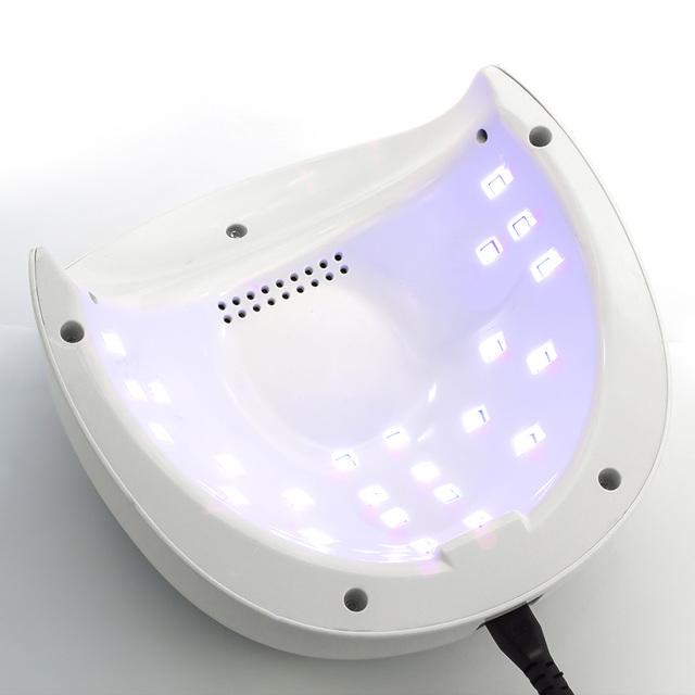 genailish SUN4plus 48W UV Lamp LED Lamp Nail Dryer 48W Nail Lamp for Curing UV Gel Polish Nail Art Tools