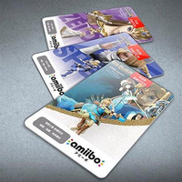 18PCS Set Zelda Amiibo Cards Kids Toys NFC Amiibo Tag Cards Breath Of The Wild Full