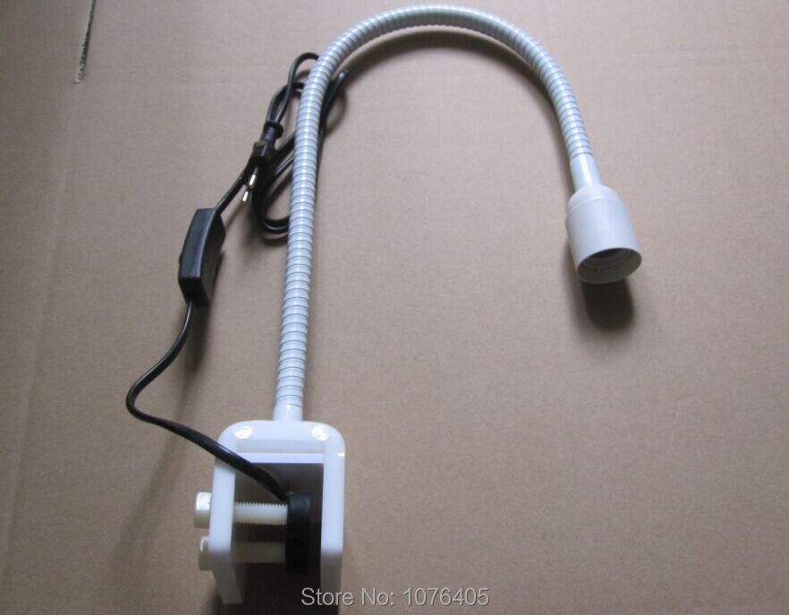 Bricolage support de lampe led Aquarium pince de travail support de lampe stent corail support de lampe col de cygne pince E27 support de lampe luminaires