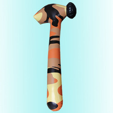 Inflatables New Hot Sale Inflatable Camouflage Pattern Pvc Hammer Club Game Trickery Props > 3 Years Old Childrens Toy Gifts