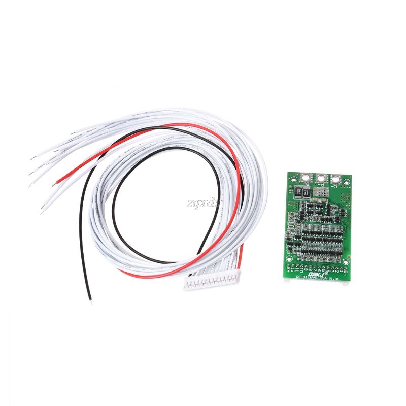 6-13 4,2 V Protección de circuito Módulo de Li-Ion Litio 18650 PCB BMS Junta