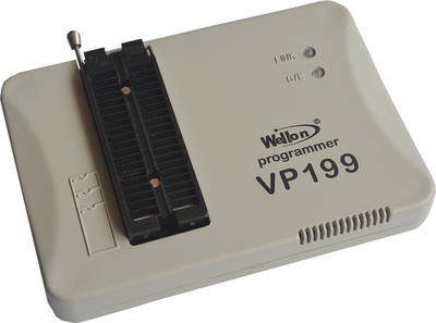 1PC Wellon VP190 prom Flash MCU Programmer USB upgrade the VP - 199