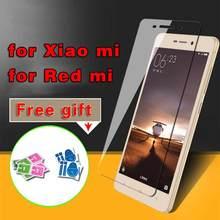 2017 Premium Tempered Glass Film for Xiaomi 4C 5 Redmi 2 3 3S 4 pro Hongmi Redmi Note 2 3 4 Pro Screen Protector Toughened Film makibes toughened glass screen protector film for xiaomi redmi note 2