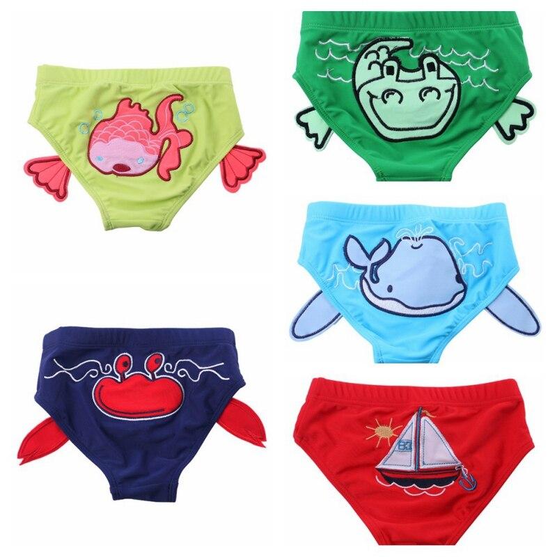 2018 1PC New Baby infant Swimwear Swimming Trunks boys girls universal cute mini-briefs hot spring pants