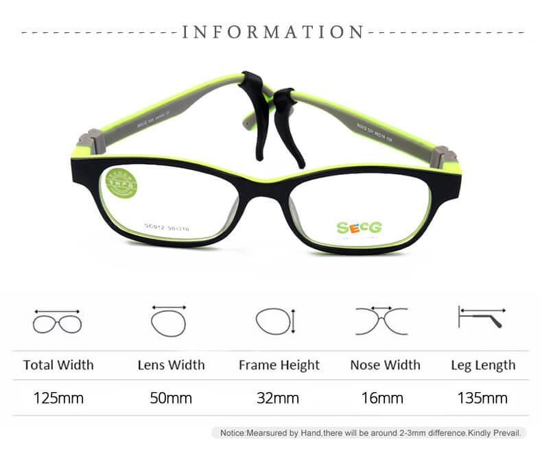 729c310328 Παιδικά γυαλιά οράσως σιλικόνης flexible Μαύρο Άσπρο