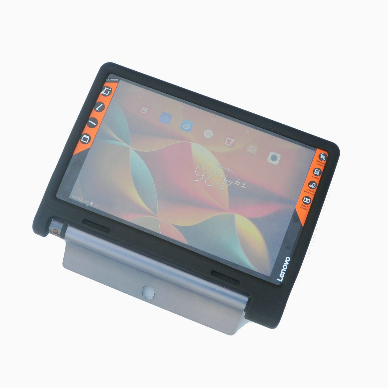 Mingshore para lenovo yoga tab 3 10.1 x50f áspero capa de silicone para lenovo yoga tab 3 10.1 YT3-X50M tablet caso à prova de choque