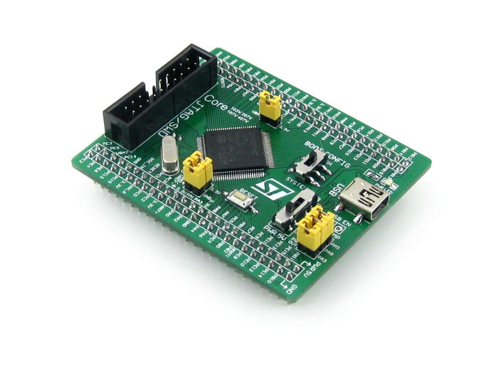 5pcs/lot STM32 Core Board Core407V STM32F407VET6 STM32F407 ARM Cortex-M4 STM32 Development Board with Full IOs parts stm32 board stm32f407vet6 stm32f407 arm cortex m4 stm32 development board pl2303 usb uart converter open407v c standar