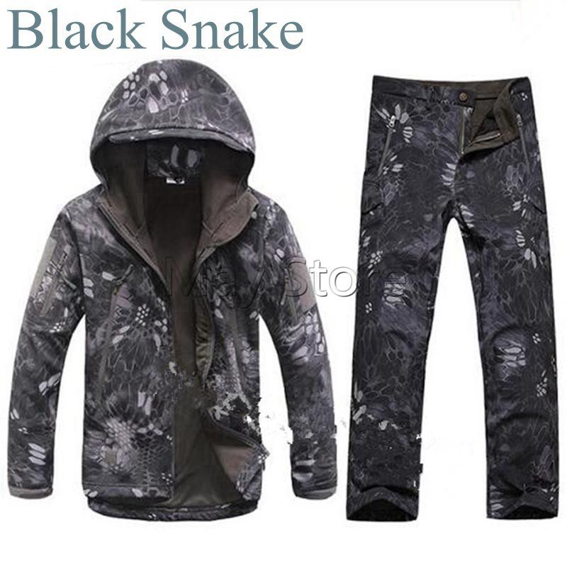 Tactical Winter TAD Gear V 4.0 Combat Uniform Hoodie Soft Shell SharkSkin Waterproof Fleece Coat Jacket Pants Hoody Clothing lurker shark skin soft shell v4 military tactical jacket men waterproof windproof warm coat camouflage hooded camo army clothing