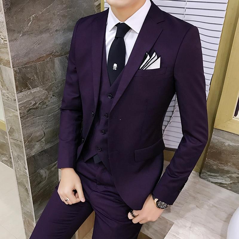 Buy special suit men slim wedding dress for Blazer with dress for wedding