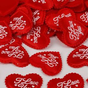 Смешанные цвета 100 шт 2 ~ 3,5 см губка сердце Свадьба конфетти метание лепестки для любви невесты День Святого Валентина подарок украшение для ...