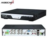 Super 8CH 4MP AHD DVR grabador de vídeo digital de seguridad cctv Cámara ONVIF red 16 canal IP HD 1080 p NVR alarma del email