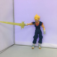 Dragonball S.H. Figuarts SHF Super Saiyan Vegetto Son Goku Vegeta PVC Action Figure Doll Resin Collection Model Toy Gift Cosplay