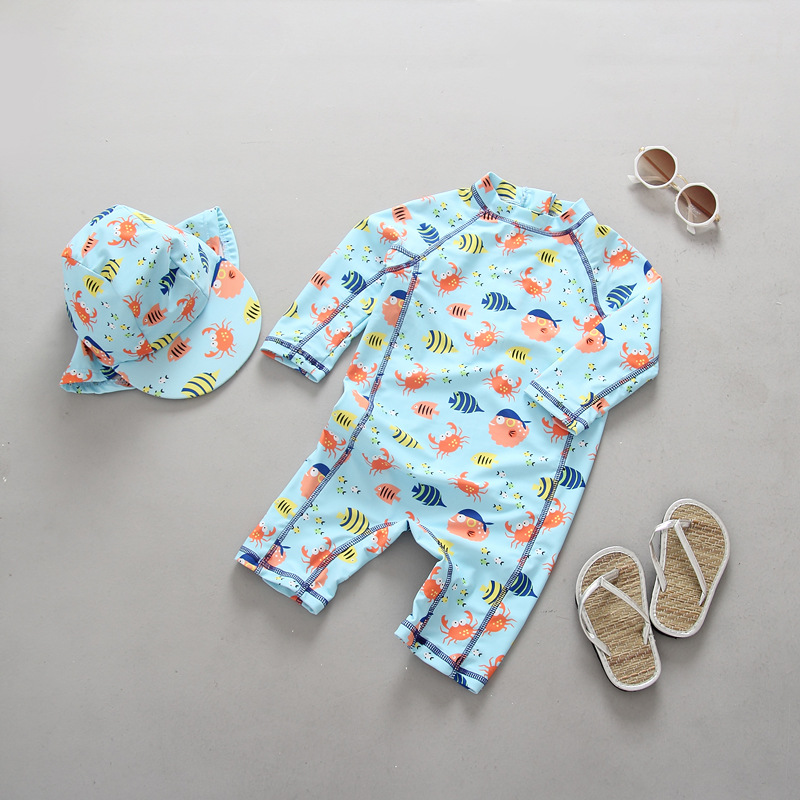 720ea3eae2 קנו ציוד ואביזרים לשחייה | Children Swimwear Baby Toddler Boys One ...