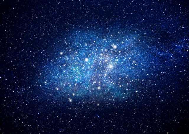 5x7ft Blu Scuro Spazio Cielo Stellato Punti Luce Stars