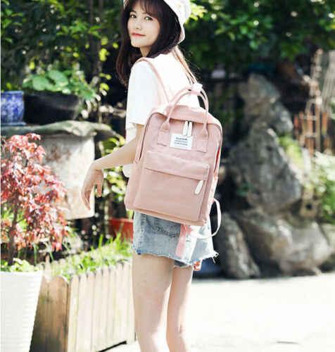 Простой стиль дорожная сумка сплошной цвет Противоугонная Мужская Женская зарядка через usb рюкзак для ноутбука ноутбук дорожная школьная сумка