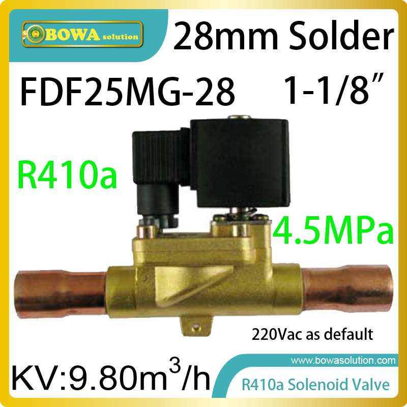 R410A solenoid valve suitable for heating, air-conditioning, process control, industrial automation and combustion control r410a hvac r solenoid valve with 4 5mpa working pressure is also suitable for r32 air condtioner or water chillers