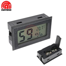 Mini LCD Digital Thermometer Hygrometer Temperature Indoor Convenient Temperature Sensor Humidity Meter Gauge Instruments