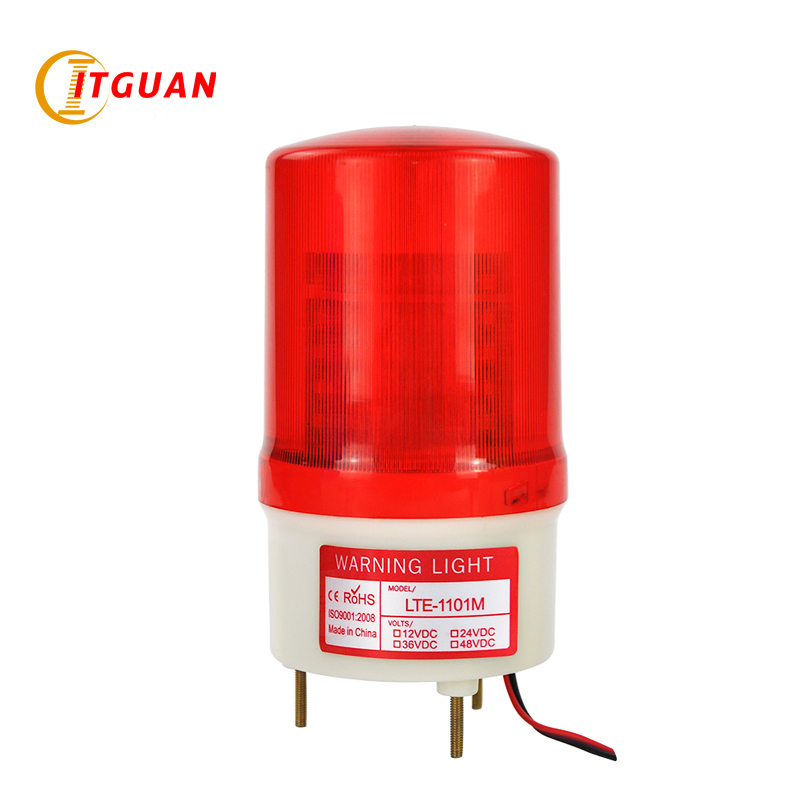 LTE-1101M  free shipping warning light Analog rotating luminous signal 0.7W LED Emergency strobeLight