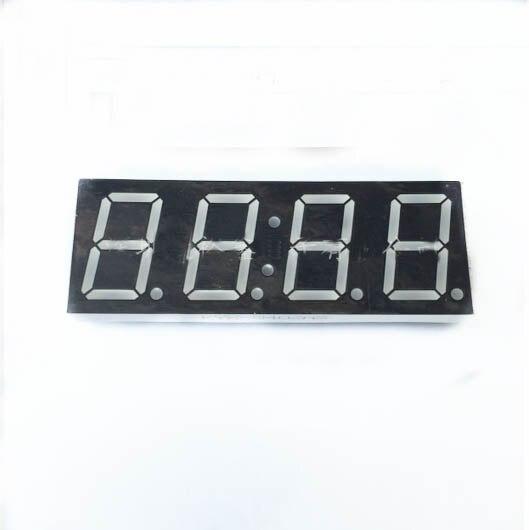 Бесплатная Доставка 100 шт. общий катод 0.8 дюймов цифровые часы трубки 4 биты цифровой пробки светодиодным дисплеем 0.8 дюйма красный цифровой ...