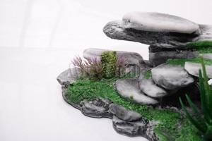 Image 5 - Mr. Lớn Hướng Núi Bò Sát Rockery Đồ Trang Trí Nhân Tạo Bể Cá Động Đá Cây Turtoises Leo Sân Thượng Bàn