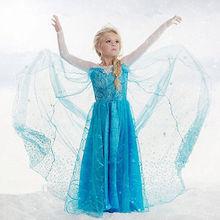 Высокое качество таможенных свадебное платье Платье для маленьких девочек Красивая Одежда Дети платье для новорожденных Обувь для девочек Анна Рождественский подарок Платья для вечеринок